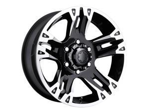 Ultra 235B Maverick 16x8 6x139.7 +10et Gloss Black Diamond Cut Clear Coat Wheel