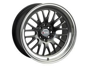 Xxr 555 18x8.5 5x100/5x114.3 35et 73.1mm chromium black / ml wheel