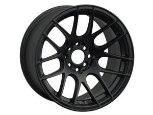 Xxr 530 17x7 5x100/5x114.3 35et 73.1mm flat black wheel