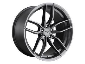 Niche 1Pc vosso 18x8 5x115 40et 70.50mm matte anthracite wheel