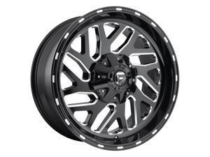 Fuel D581 Triton Dually Gloss Black Milled 22x8.25 8x200 104.8mm (D581228292)