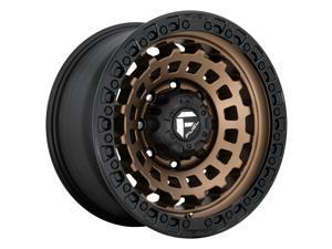 Fuel 1Pc zephyr 17x9 8x180 -12et 124.20mm matte bronze black bead ring wheel