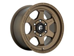 Fuel 1Pc shok 20x9 6x139.7 1et 106.10mm matte bronze wheel