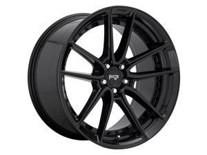 Niche M223 DFS Gloss Black 17x8 5x114.3 40mm (M223178065+40)