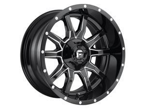 Fuel D627 Vandal Gloss Black Milled 18x9 6x135 / 6x139.7 -12mm (D62718909845)