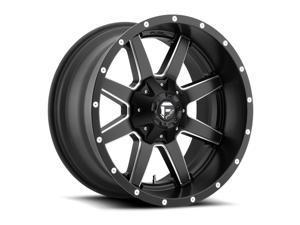 Fuel D538 Maverick Dually Matte Black Milled 20x8.25 8x210 122mm (D538208293F)