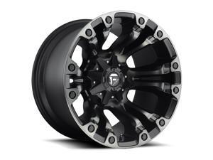 Fuel D569 Vapor Machined Black DDT 17x10 5x114.3 / 5x127 -18mm (D56917002647)