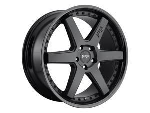 Niche 1Pc altair 19x8.5 5x108 40et 72.56mm gloss black matte black wheel