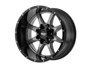 """Moto Metal MO970 20x9 5x5.5""""/5x150 +18mm Gunmetal/Black Wheel Rim 20"""" Inch"""