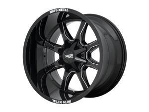 Moto Metal MO970 Gloss Black Milled 20x9 6x135 / 6x139.7 18mm (MO970290673B18)