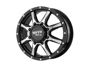 Moto Metal mo995 20x8.25 8x210 127et 154.30mm gloss black machined - front wheel