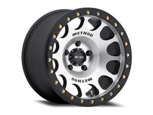 Method Race mr105 beadlock 17x9 6x139.7 -38et 108mm machined matte black wheel