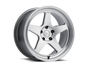 Kansei Wheels K12H Knp Hsbl 18x9.5 5x114.3 12et Hyper Silver Machined Lip wheel