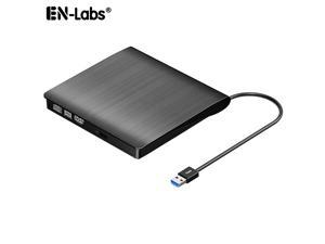 9.5mm Laptop Optical Drive Case,Slim USB 3.0 DVD External Enclosure SATA to USB ODD Case Box for CD/DVD-ROM Combo DVD RW ROM Burner