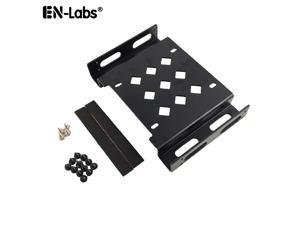 Hard Drive SSD Adapter,2.5/3.5 to 5.25 Drive Bay Adapter Computer Case Bracket, Aluminum 5.25 to 3.5 or 2.5 SATA/IDE HDD Mounting Kit