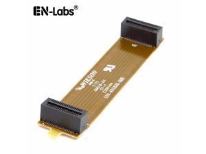 Enlabs BRIDGEATI Crossfire Bridge Interconnect Connector Flex Cable ,PCI-E Female to Female X-Fire Adapter for Crossfire Compatible AMD ASUS ATI GPU VGA Video Graphics Card - 7CM