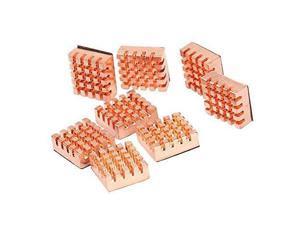 8pcs/lot 14x12x5.5mm Self-Stick Copper Heatsink ,VGA GPU Video Card Graphics Motherboard DDR RAM Memory chips Heat sink Cooling