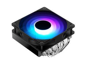 Jonsbo CR-701 RGB CPU Cooler with 5 Direct Contact Heatpipes, Ultra-thin CPU Fan