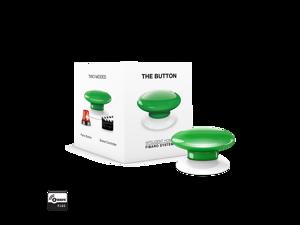 Fibaro (FGPB-101-5 US) The Button Z-Wave Scene Controller, Green