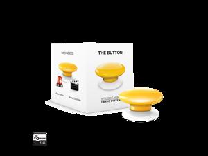 Fibaro (FGPB-101-4 US) The Button Z-Wave Scene Controller, Yellow