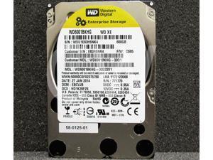 "(NOT FOR HOME PC!) Western Digital XE WD6001BKHG 600GB 10000RPM 6Gb/s 32MB 2.5"" SAS Hard Drive"