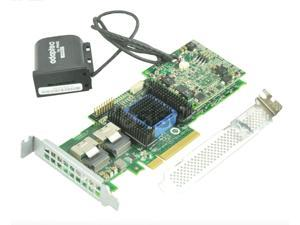 (NOT FOR HOME PC!) ASR-6805T ADAPTEC 512MB SAS 6Gb/s 8I-PORT RAID CONTROLLER W/BATTERY BOTH BRACKET