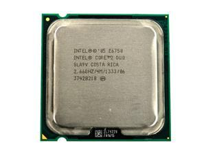 Intel Core 2 Duo E6750 SLA9V 2.66GHz 1333MHz FSB 4MB L2 Cache Socket LGA775