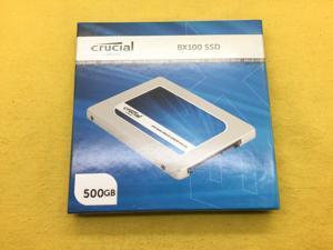 Crucial BX100 500GB 6Gb/s SATA 2.5inch Internal SSD CT500BX100SSD1 New Sealed