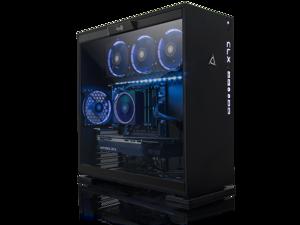 CLX SET GAMING PC Liquid-Cooled AMD Ryzen Threadripper 2950X 3.5GHz (16 Cores) 32GB DDR4 6TB HDD & 960GB SSD NVIDIA RTX 2080 Ti 11GB GDDR6 WiFi Black Mid-Tower Blue LED Ring Fans MS Windows 10 64-Bit