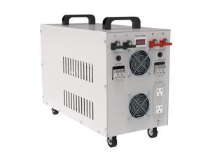 7000w/Peak 21000w Car Power Inverter Converter DC48 to AC 110v 60Hz Pure Sine Wave Off Grid