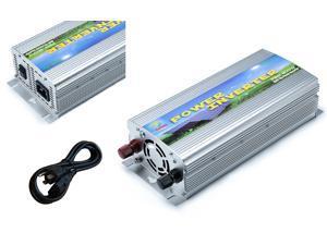 Solinba 500w on grid tie pure sine wave power inverter DC11-28v to AC 90-130v, 46-65Hz, USA plug, silver color