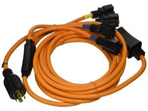 Ceptics Four Outlet Convenience Cord Generator - 25 Feet 30-Amp