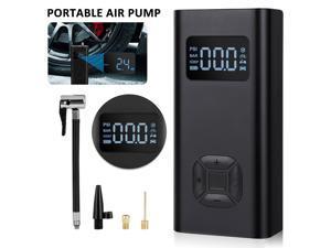 5V 150PSI Cordless Car Tire Pump USB Rechargeable 6500mAh Battery Mini Digital Air Pump Tire Inflator Portable Air Compressor