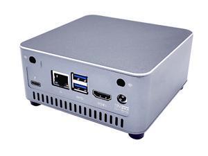 Partaker C8 Mini PC 10th Gen Core i3 10110U with 1x i225V LAN 1x HD 2.0 1x Thunderbolt Type-C Win10 NVMe Mini Computer HD 3 dual Display for Home Office 8GB Ram 128GB SSD