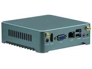 Desktop Computer Fanless Mini PC NANO PC With Intel Quad Core J1900 Partaker N4 1 LAN Barebone System