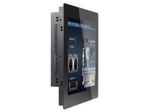 2MM 17 Inch Taiwan 5 Wire Touch Fanless Panel PC 4G RAM 32G SSD J1900 Z15T