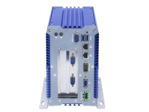 Industrial PC Rugged Computer IPC Mini PC Windows 10 Pro/ Linux with Intel 3865U 4 COM 9 to 36V 2 32 bit PCI or 1 PCIE 4X 1 PCI 2 Intel LAN 3G 4G WiFi Support SIM Slot 8G RAM 128G SSD 1TB HDD  I19