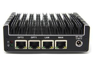 Partaker Vault 4 Port, Firewall Micro Appliance/Mini PC - Intel J3160 Quad Core, AES-NI, 8GB RAM, 240GB mSATA SSD