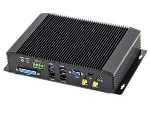 Industrial mini pc intel core i5 4200U with 6COM RS232 RS422 RS485 HDMI VGA GPIO LPT ports for medical industry 4GB Ram 128GB SSD