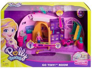 Polly Pocket Transformation Kids Playset Interactive Accessories Mattel