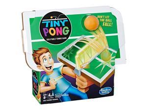 Tiny Pong Solo Table Tennis Kids Electronic Handheld Game Board Game Hasbro E3112