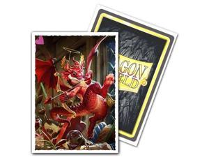 Deck Protector Dragon Shield Art Matte Valentine Dragon 100ct Card Sleeves Durable Arcane Tinmen