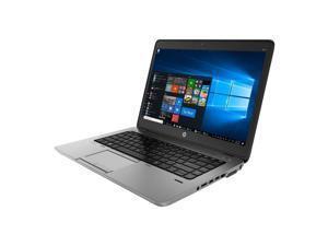 """HP EliteBook 840 G1 14"""" Laptop, Intel Core i5, 8GB RAM, 240GB SSD, Webcam, Win10 Pro."""