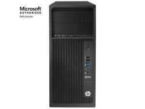 HP Workstation Z240 Tower, Intel Core i7, 16GB RAM, 512GB SSD, Win10 Pro!