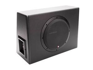"""Rockford Fosgate P300-10 300W RMS Single 10"""" Amplified Subwoofer Enclosure"""