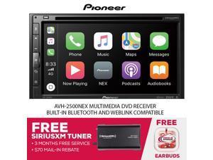 Pioneer AVH-2500NEX Multimedia DVD Receiver & SiriusXM Tuner