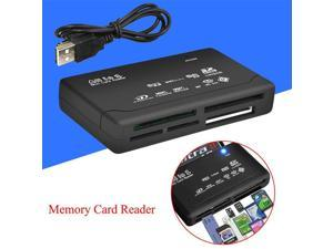 Mini All In One USB Multi Memory Card Reader High Speed Flash Memory For CF XD SD MMC SDHC MS