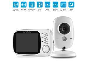 3.2? LCD Baby Monitor Wireless Digital Video Night Vision Temperature Sensor