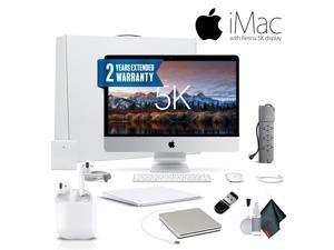 Apple iMac MNEA2LL/A  27 Inch, 3.5GHz Intel Core i5, 8GB RAM, 1TB Fusion Drive, With Magic TrackPad 2, Warranty, Apple Superdrive, Apple AirPods and More. - Professional Bundle
