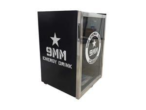 Mini Fridge 9MM Energy Drink. Fill this refrigerator with full of cold drinks with a 150 can capacity.